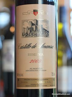 The Reverse Wine Snob: Bodegas Piqueras Castillo de Almansa Reserva 2009 - A Blend Three Big Grapes From Spain. From the land of Don Quixote and Manchego cheese, Castilla-La Mancha. http://www.reversewinesnob.com/2013/09/bodegas-piqueras-castillo-de-almansa-reserva.html