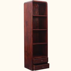 Contemporary #IndianRosewood Open Shelf #Bookcase w Drawers #interiors #contemporaryfurniture #homedecor #furniture #homeinspiration   http://www.sierralivingconcepts.com/