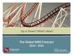 Global MRO Market Forecast by 2020 by REYYAN DEMIR via slideshare