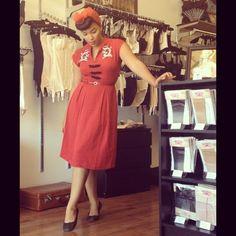 Ashleeta looks beautiful as always in an oldie but a goodie, the Dragon Lilian Dress! #trashydivadragonliliandress #trashydivaliliandress