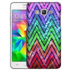 Samsung Grand Prime Rainbow Retro Chevrons Case