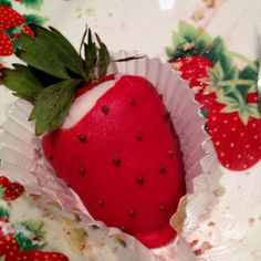 Strawberry covered strawberry!?