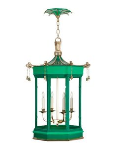 Hanging Pagoda Bell lantern by Charles Edwards.