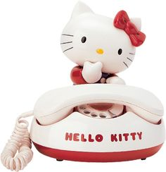 Hello Kitty phone from 1981