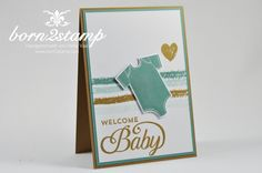 IN{K}SPIRE_me #158 – Welcome Baby | born2stamp