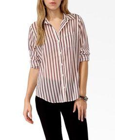 Vertical Striped Shirt - $19.90