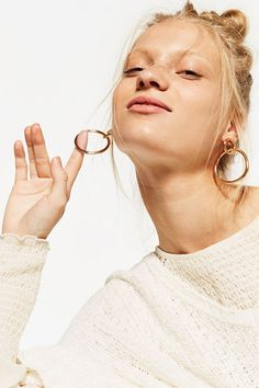 For a quick, glam addition to your look, you can't go wrong with a pair of fun statement earrings. Whether you're a subtle gold girl or embellished enthusiast there's a design to suit everyone – the modern-day take on the classic chandelier, expect everything from simple pared-back elegance to wow-factor jewels.