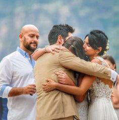 Salieron a la luz nuevas imágenes de la boda de Aislinn Derbez y Mauricio Ochmann que son las más emotivas que verás