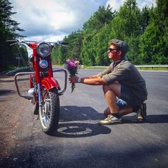 Vintage Motorcycles, Jeeps, Biking, Cherry, Iron, Collection, Projects, Bicycling, Motorcycles