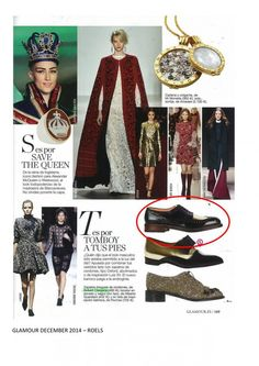 Glamour Spain - December 2014 #robertclergerie #glamour