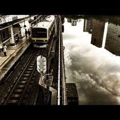 空と線路  #iphoneography #instagram - @jun1972-