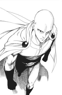 Get your favorite One Punch Man Saitama collectibles only here in RykaMall - your toy store. Other One Punch man characters are available here as well. Opm Manga, Manga Anime, Manga Art, Anime One Punch Man, Saitama One Punch Man, Saitama Sensei, Man Sketch, Anime Drawings Sketches, Anime Characters