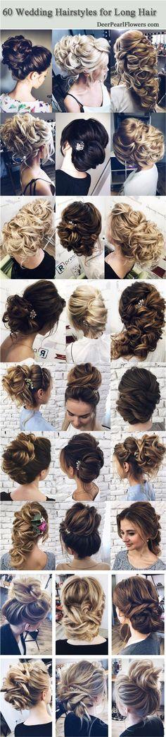 Bridal Hairstyles : Wedding Hairstyles for Long Hair from Tonyastylist / www.deerpearlflow