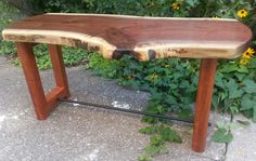 Live Edge Coffee Table Wooden Coffee Table by KentuckyLiveEdge
