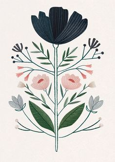 Image result for flower illustration