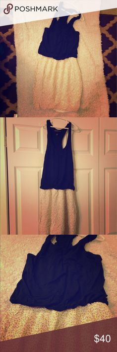 Victoria Secret small dress Like new, no flaws. Very comfortable and cute VS dress. Stretch, butter soft, summer dress. Size small can fit medium Victoria's Secret Dresses Midi