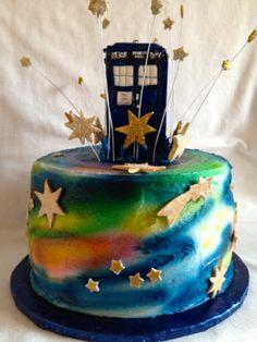 Tardis Birthday Cake by Kilalaflames on deviantART Dr WHO