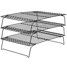 Buy Wilton Three Tier Recipe Right Cooling Rack from the Baking Tins, Moulds & Trays range at Hobbycraft. Free UK Delivery over and Free Returns. Sugar Cookie Bars, Easy Sugar Cookies, Small Refrigerator, Wilton, Small Fridges, Cooling Racks, Peppermint Cookies, Rum Cake, Baking Accessories