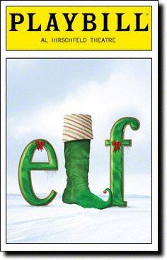 Elf broadway-playbills
