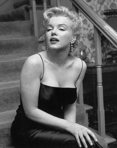 """Marilyn Monroe by Earl Leaf -1956-""""Press-party"""" pour le tournage de """"Bus stop"""""""