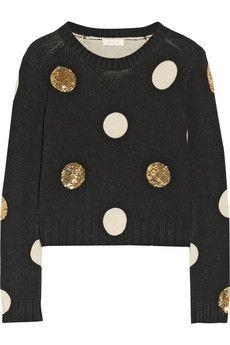 Sass & bide Between Ordinary Pullover aus einer Baumwoll-Wollmischung mit Verzierung | NET-A-PORTER