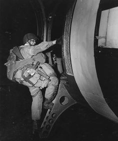 D-Day paratrooper - Some of the bravest men you could encounter.  Who else would jump from a perfectly working aircraft to save lives from tyranny?