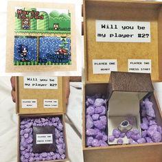 Will you be my player #2? Pedido geek criativo de casamento da @camilimaaaa  http://ift.tt/1oztIs0 Pinterest:  http://ift.tt/1Yn40ab