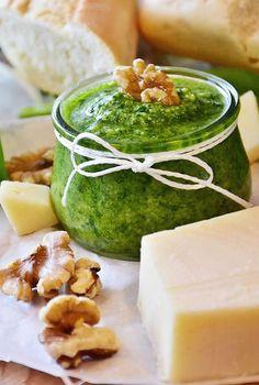 Medvedí cesnak aj do nátierky Palak Paneer, Ethnic Recipes, Food, Essen, Meals, Yemek, Eten