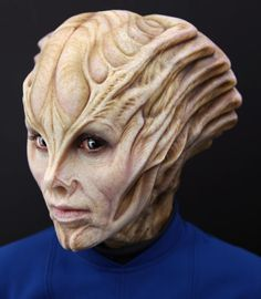 STAR TREK BEYOND, Sil female alien makeup I designed and sculpted for the film.  Applied by Joel Harlow and Richie Alonso. Proud to be a part of Joel Harlow's creature crew.  We'll be discussing the making of the aliens for the film at IMATS this Saturday, JAN 14 at 4PM.  #startrekbeyond #startrek #aliens #makeupfx #makingmonsters #moviemonsters #imats