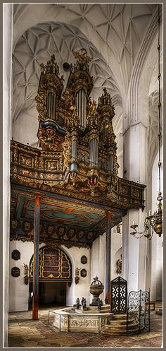 St Mary's Church, Gdansk, Poland
