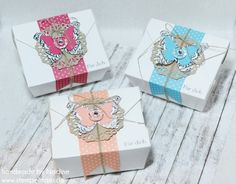 Stampin Up Verpackung Box Schachtel Goodie Gift Idea Give Away 046