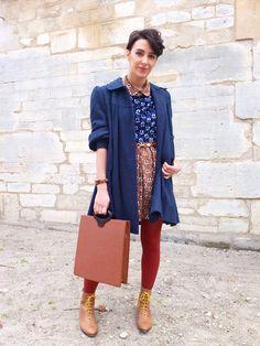 PARIS - fashion week via The Facehunter.