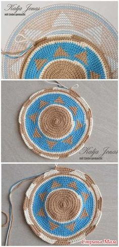 Wayuu Mochilla Bag How To . Tunisian Crochet, Filet Crochet, Crochet Motif, Crochet Stitches, Knit Crochet, Crochet Case, Crochet Purses, Tapestry Bag, Tapestry Crochet