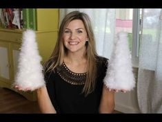Holiday Feather Tree DIY - Instructional Video in how to make a feather tree with marabou feather boas Christmas Tree Feathers, Cone Christmas Trees, Christmas Tree Decorations, Christmas Crafts, Merry Christmas, Feather Tree, Feather Boas, Holiday Boutique, Turkey Feathers