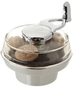 William Bounds Nut Twister Nutmeg Mill, Chrome by William Bounds
