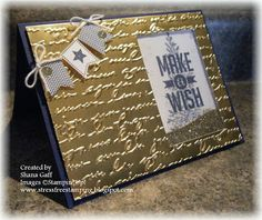 Stress-Free Stamping with Shana: Banner Blast, Endless Wishes, Lovely as a Tree, Perfect Pennants -  SU stamp sets