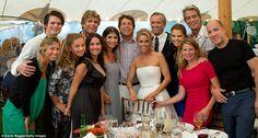 Meet the family: From let, Eunice Shriver, Sam Shriver, Caro Shriver, Anthony Shriver, Al...