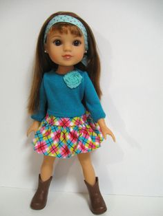 Hearts 4 Hearts Doll Clothes Argyle by 123MULBERRYSTREET on Etsy, $24.00