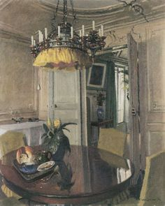 interior, viewing into salon form dining room, 1904