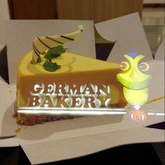 Mango Cheese Cake   German Bakery   Pune
