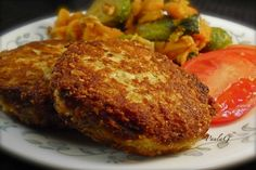 Salmon croquettes with oatmeal