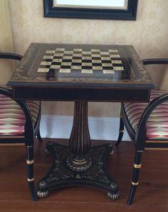 A Maitland Smith Chess Table