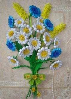 daisies #quilling