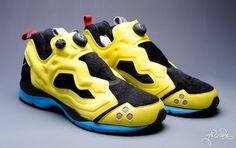 Reebok has teamed with Marvel to release some awesome limited edition shoes. /// Wolverine