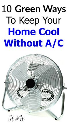 1000 ideas about homemade air conditioner on pinterest air conditioners cool diy and diy air - Cooling house without ac tips summer ...