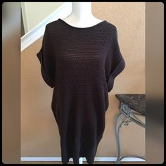 GORGEOUS BROWN SWEATER DRESS NEVER WORN! TAGS STILL ATTACHED. Gorgeous with tall boots or heels. Lane Bryant Dresses Midi