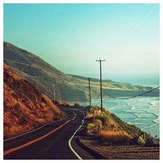 Highway 1. California coast. The PCH.