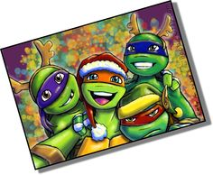 Pin by justine imbruglia on merry merry pinterest merry a very mikey christmas by resuki find this pin and more on tmnt sciox Image collections