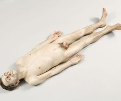 Ron Mueck - Dead dad.