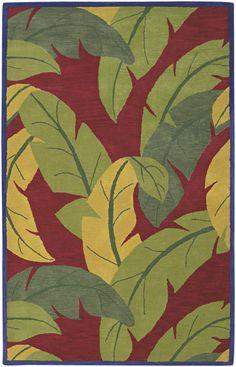 Caribbean-style rug